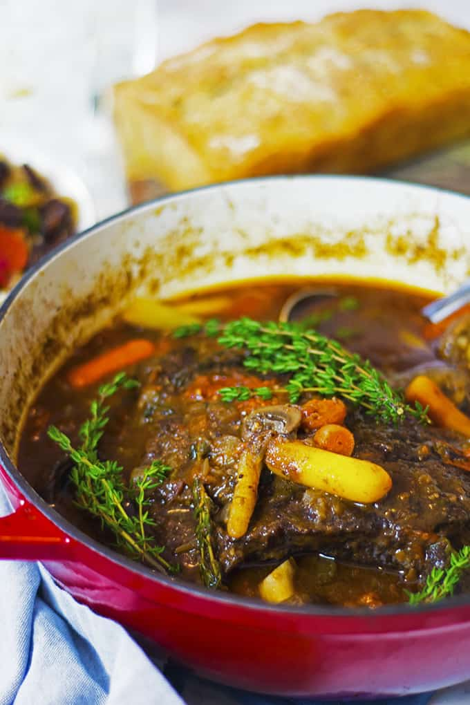 Make braised beef on a weekend.
