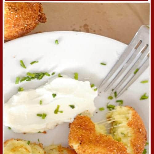 Mashed Potato Croquettes recipe.