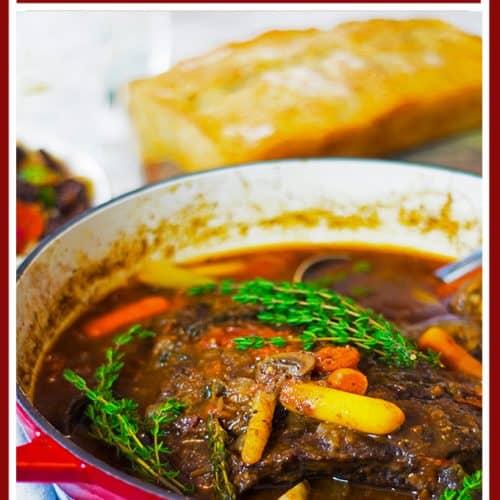 Braised Beef Recipe from Platter Talk