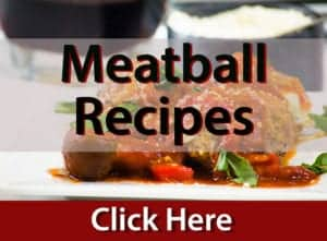 Meatball recipes on platter talk food blog.