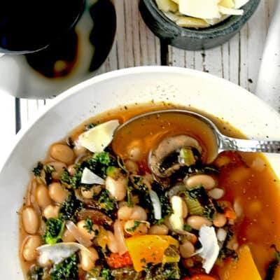 Winter Garden Vegetable Soup