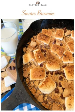 Smores Brownies on Pinterest