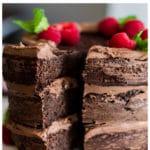 Keto Chocolate Cake for Pinterest