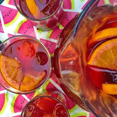 Sangria with Vodka