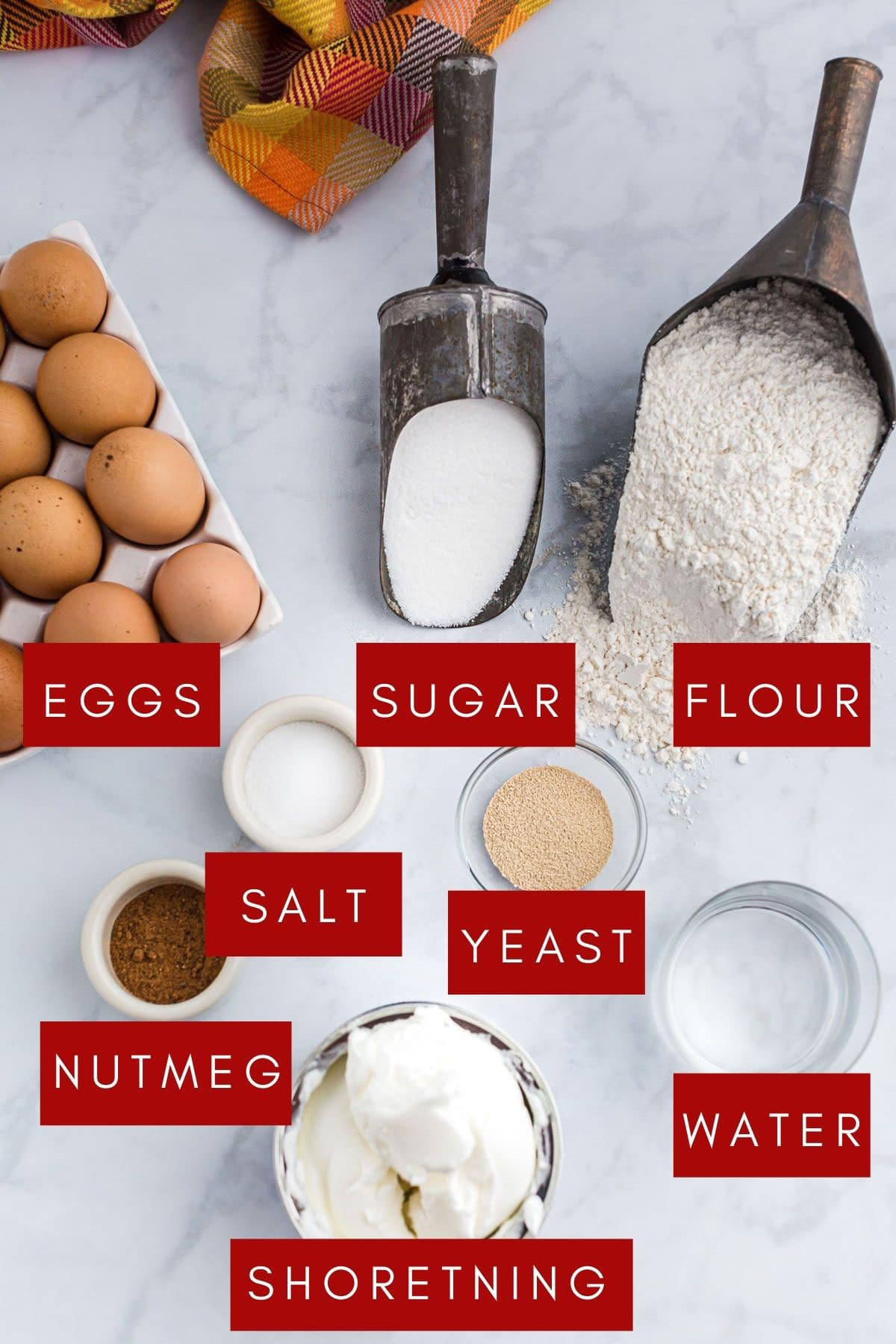 Pantry ingredients you need to make Fasnacht donuts