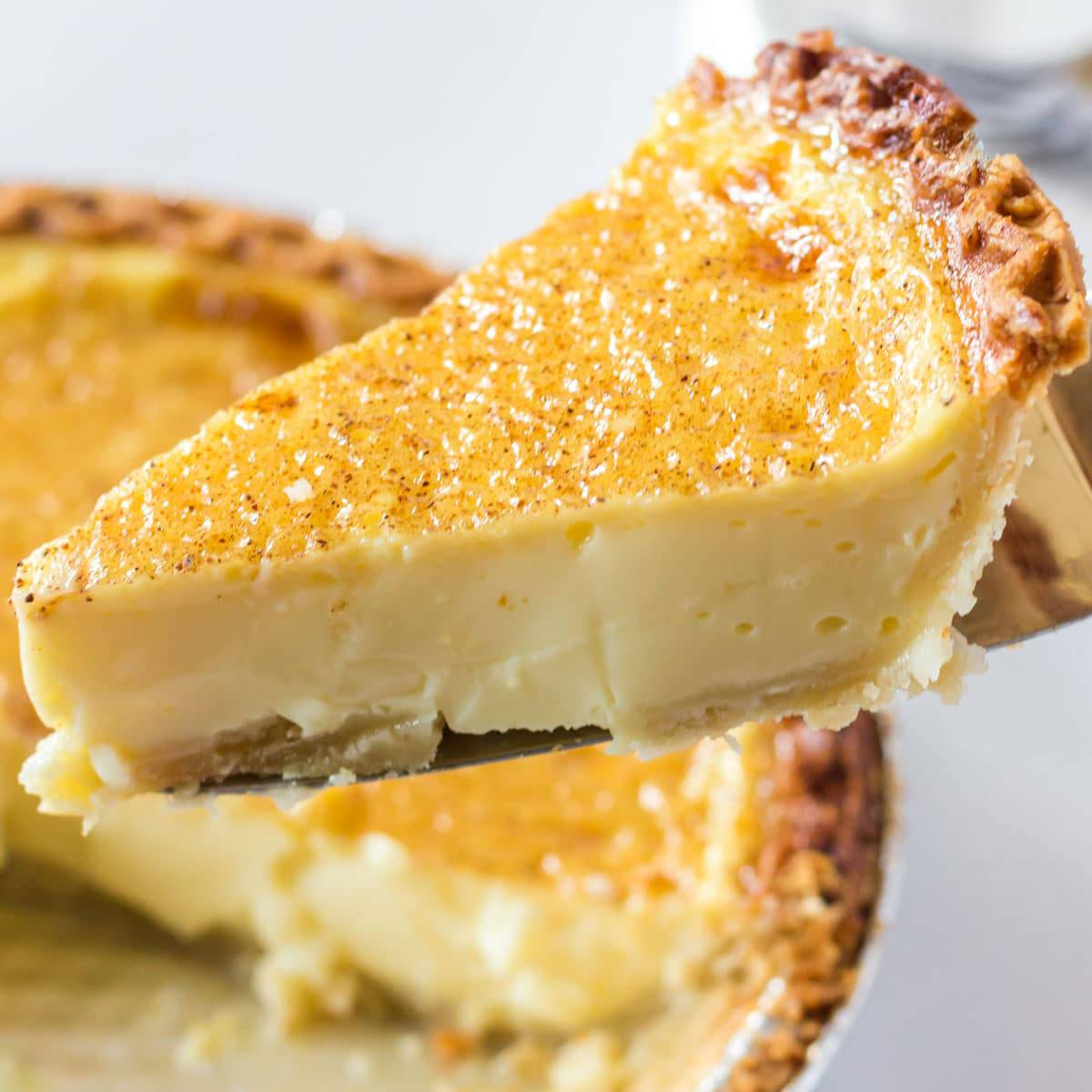 Egg Custard Pie Platter Talk