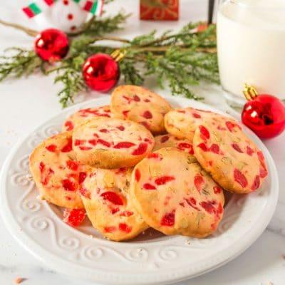 Cherry Christmas Cookies