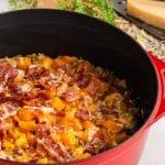 A casserole in a Dutch ocen