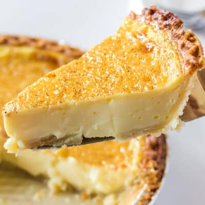 Easy Egg Custard Pie Recipe
