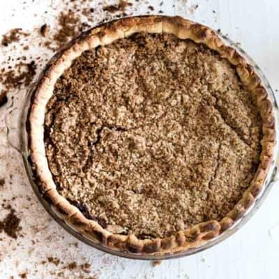 Amish Shoofly Pie